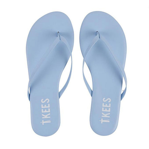 Lily Solids Slippers - No. 13 - Baby Blue