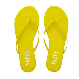 Lily Solids Slippers - No. 4 - Yellow