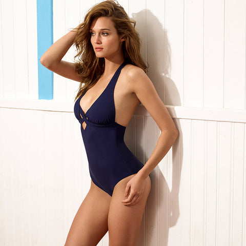 Martinique One Piece - Navy