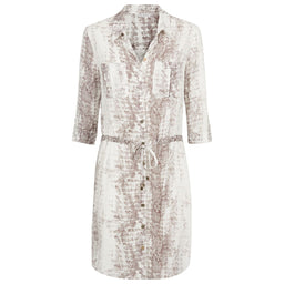 Alhambra - Mini Shirt Dress - Snake Print