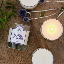 Scented Candle - Blackcurrant Leaves