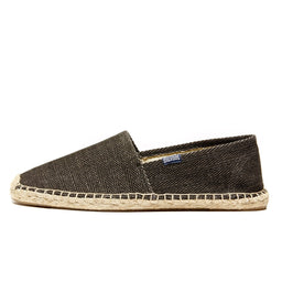 Herringbone Twill Original Slippers - Carbon Grey