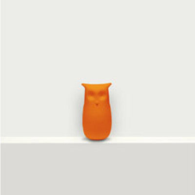 Sova - Owl Bookmark - Orange