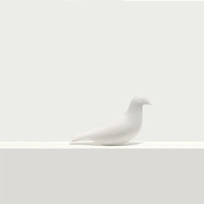 Pero - Bird Bookmark - Sit - White