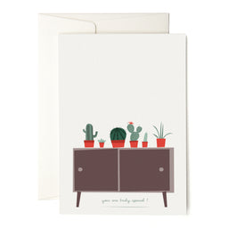 "Greeting Card - Cactus Collection - ""You're Truly Special"""