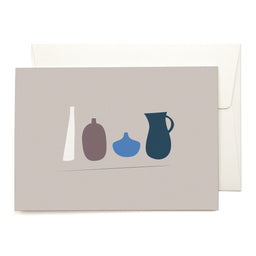 Greeting Card - Vase Collection