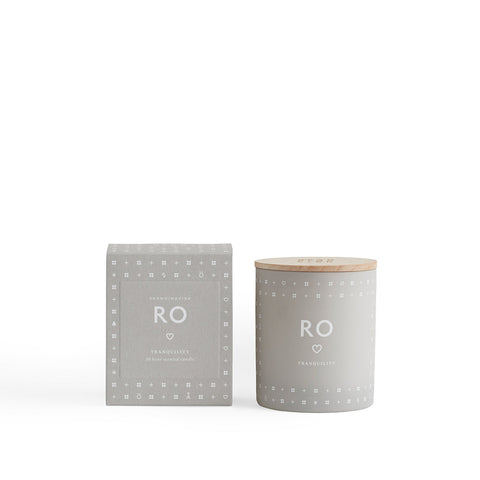 Candle with Lid - Ro