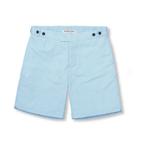 Tailored Swim Shorts - Ipanema - Aqua / Navy