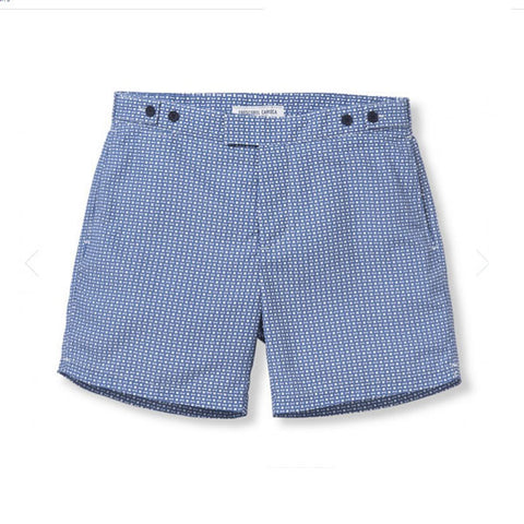 Tailored Swim Shorts - Urca Long - Slate Blue