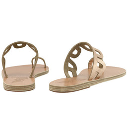 Venus Slippers - Pink Metal