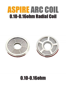 Aspire Radial Coil (ARC Technology - 0.10/0.16ohm) (3-pack)
