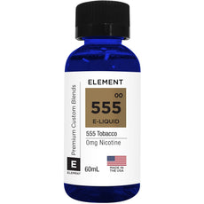 Element Eliquids -  555 Tobacco - 60ml