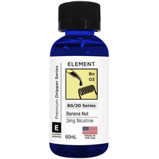 Element Eliquids - Banana Nut - 60ml