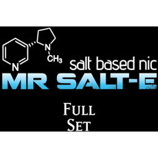 Mr. Salt-E (Complete Line) Sample Set