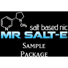 Mr. Salt-E Top 7 Flavors Sample Set