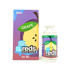 Reds Apple EJuice - Reds Apple Grape Iced - 60ml