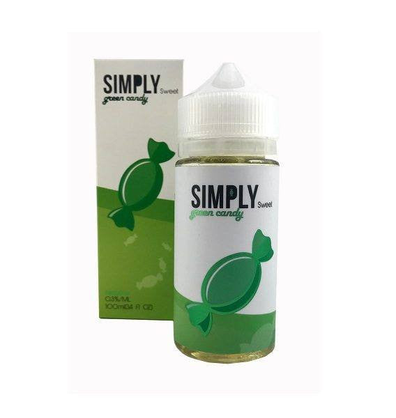 Simply Sweet Eliquids – Green Candy - 100ml