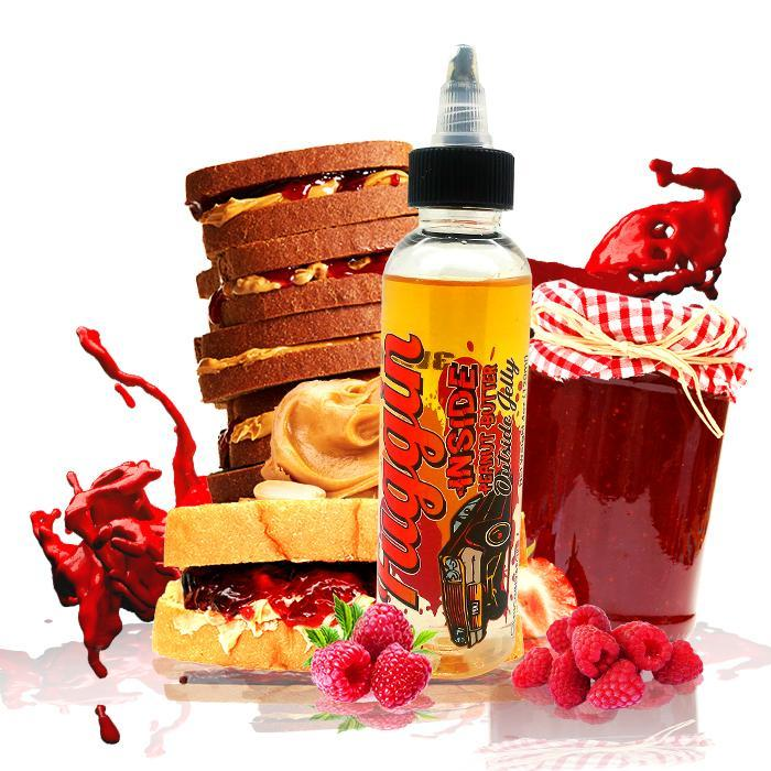 Fuggin Vapor - Inside Peanut Butter Outside Jelly 120ml