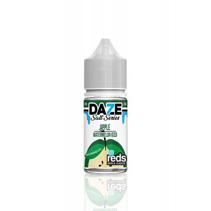 7 Daze Salt Reds Apple Watermelon ICED 30ml
