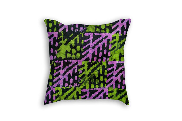 African Tie Dye Printed Pillow