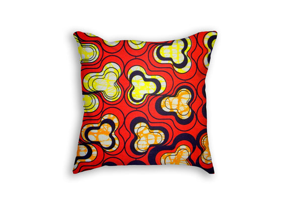 African Wax Printed Pillow
