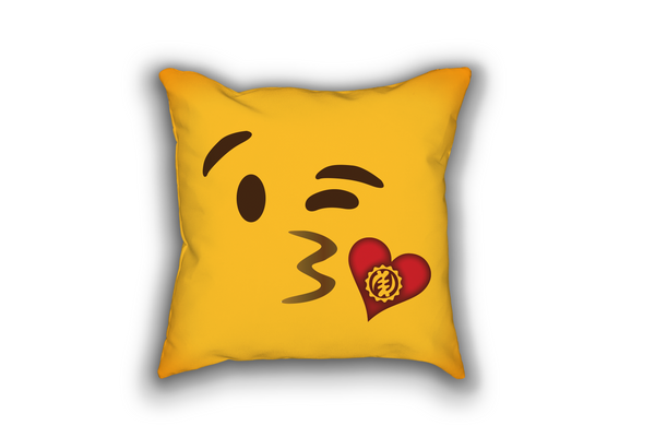 Blowing Kisses Pillow