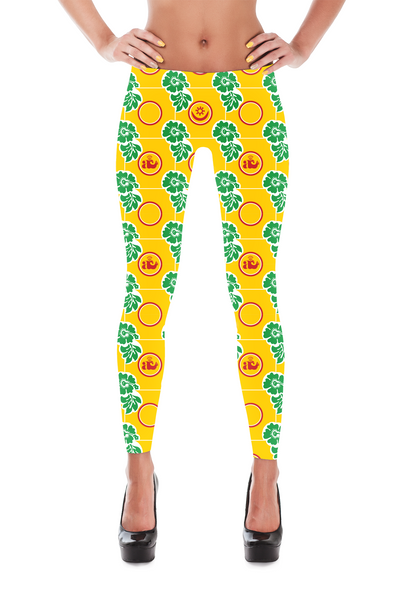 Hawaiian Afrique Leggings