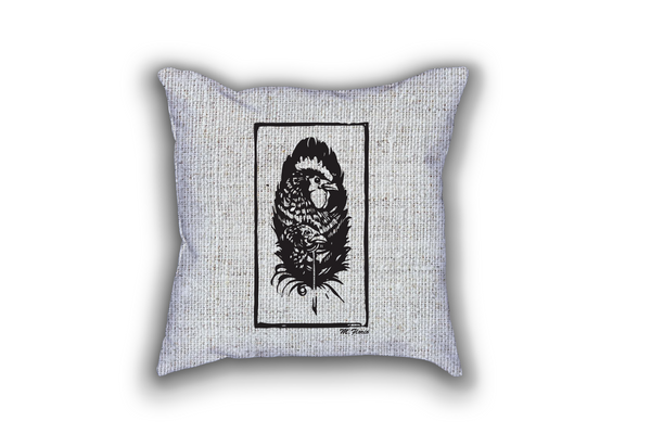 Portrait of a Feather Pillow