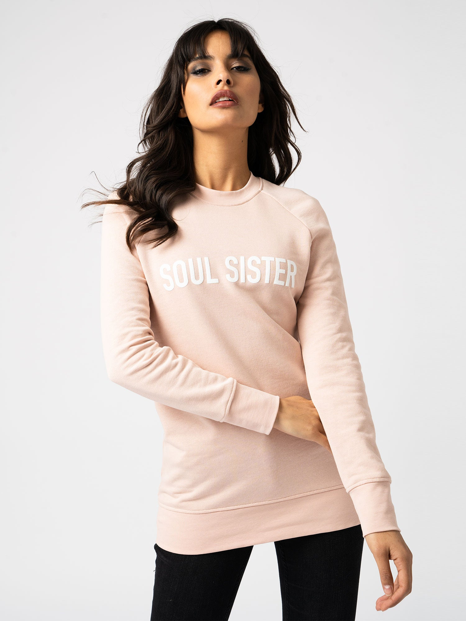 Soul Sister Sweater Pink