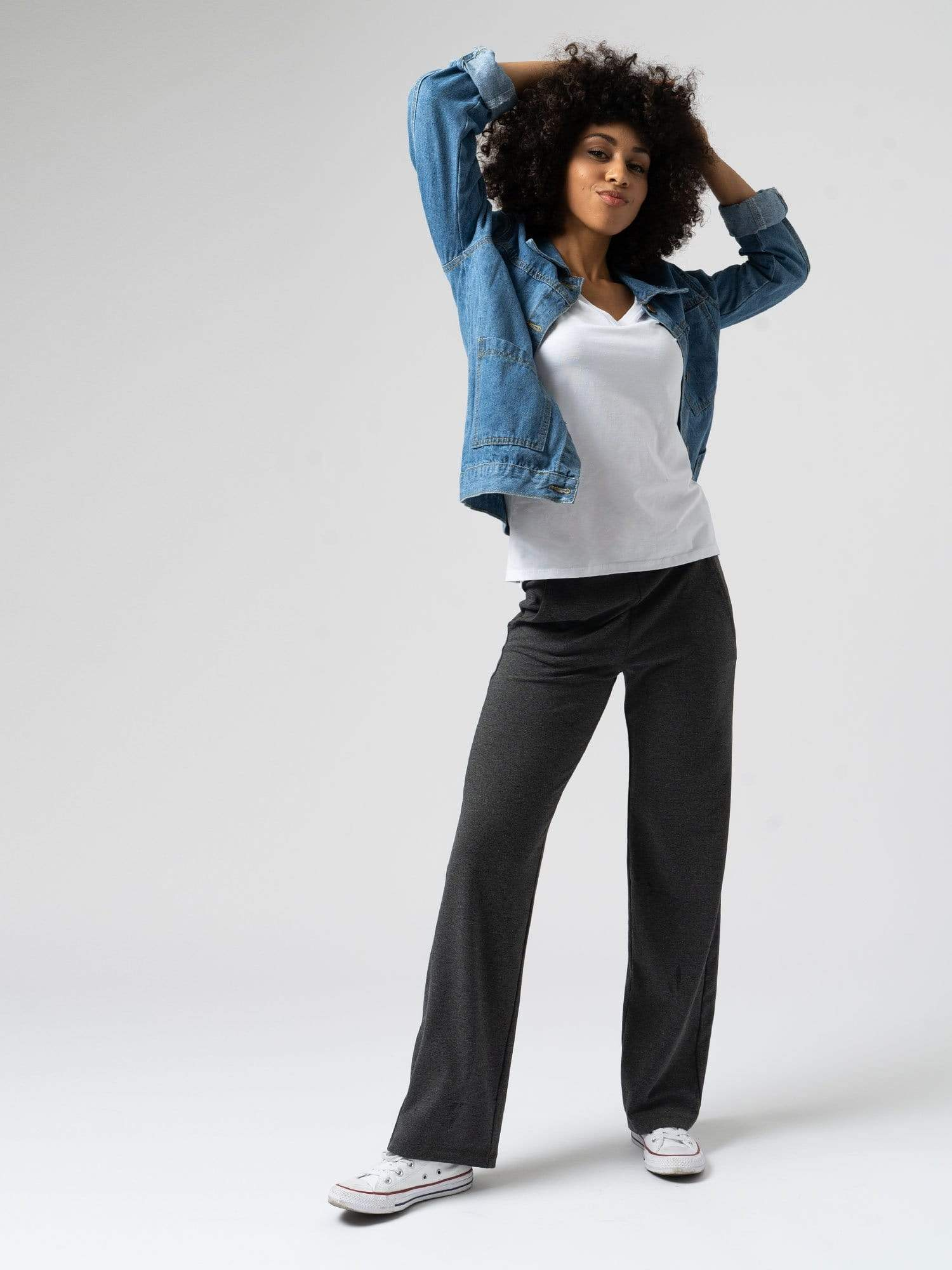 Apartment Pant in Charcoal