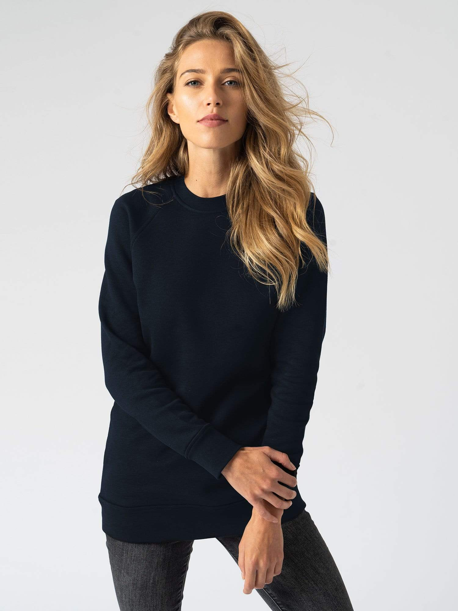 Cotton Sweater Navy
