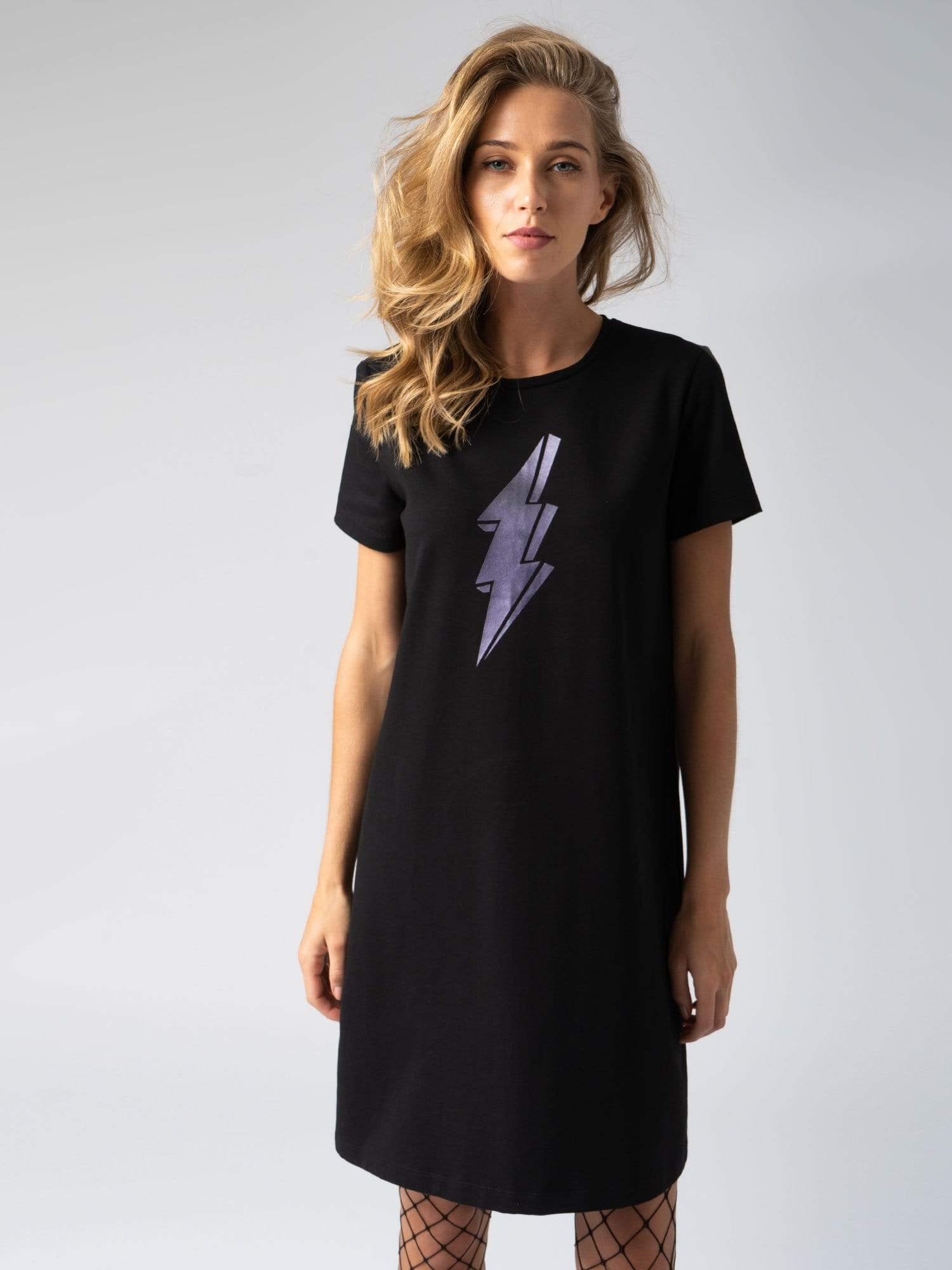 Dress Electric T-Shirt Dress Zaggora UK