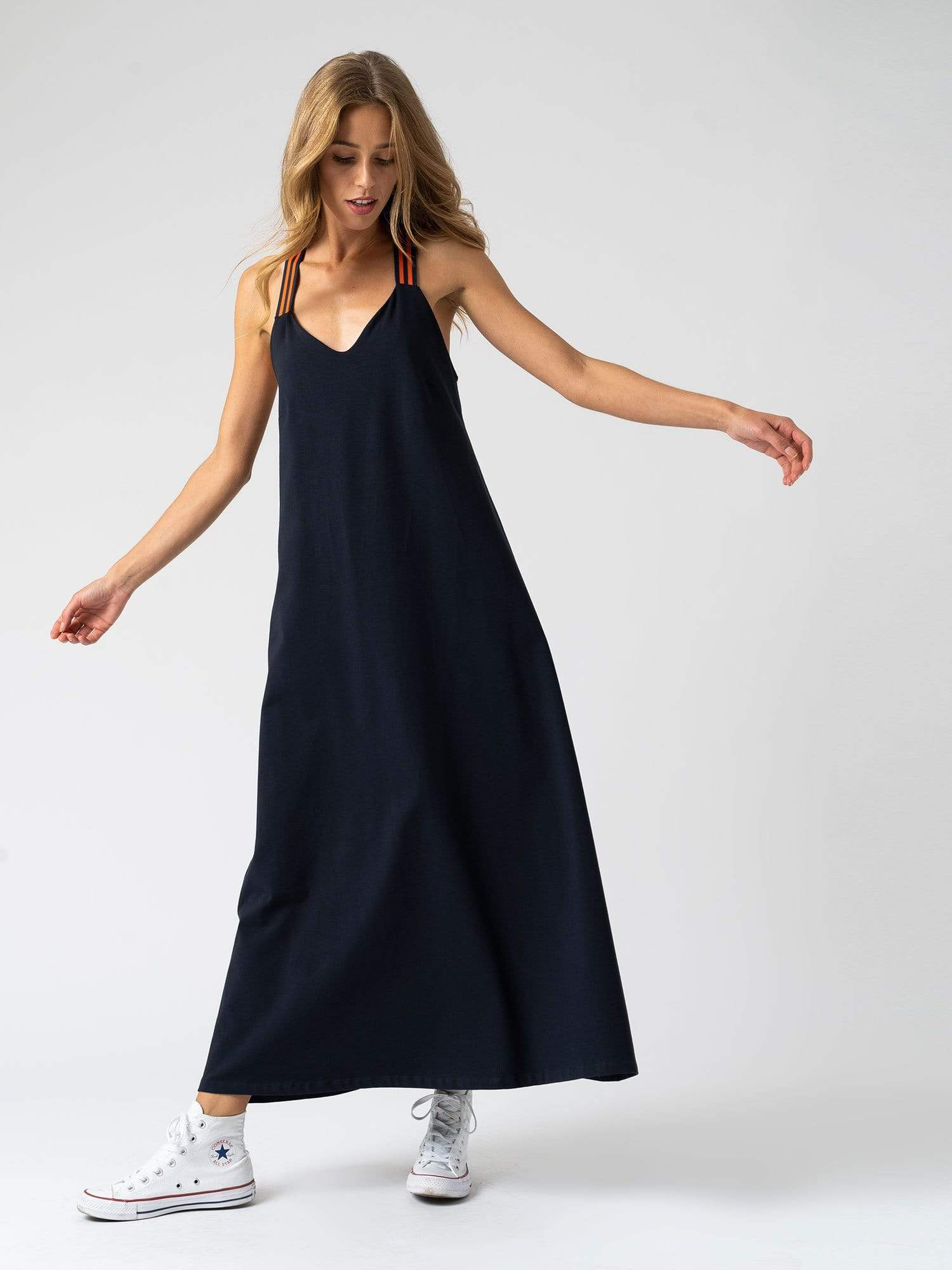Dress The Sunset Dress - Navy Zaggora UK