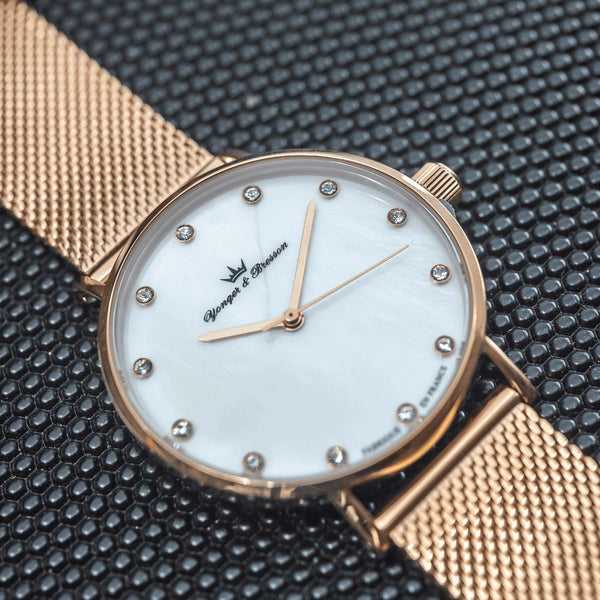 CHLOTILDE NACRE ROSE GOLD