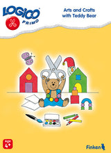 Arts and crafts with Teddy bear, LOGICO Primo Learning Cards, Ages 4+