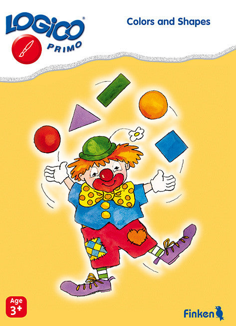 Colours and Shapes, LOGICO Primo Learning Cards,  Ages 3+