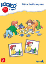 Kindergarten, LOGICO Primo Learning Cards, Ages 3+