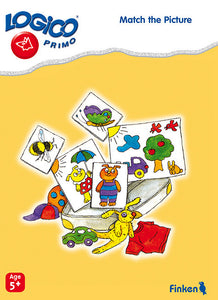 Match the Pictures, LOGICO Primo Learning Cards, Ages 5+
