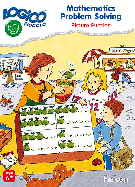 LOGICO Piccolo - Mathematics Problem Solving Picture Puzzles (Ages 6+)