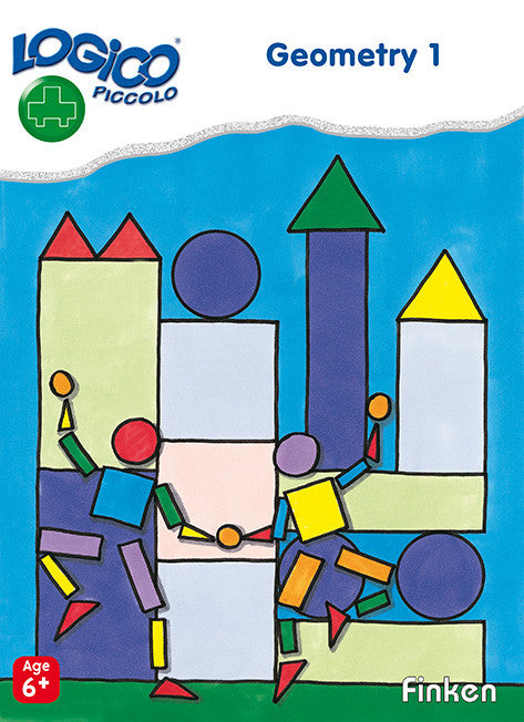 Geometry 1 , LOGICO Piccolo Learning Cards, Ages 6+