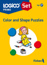 LOGICO Primo starter set NEW Age 3+ (3 books and board)