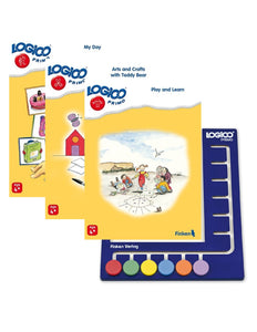 LOGICO Primo Starter Package: 3 books and 1 board (Ages 4-6)