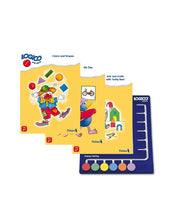 LOGICO Primo Starter Package: 3 books and 1 board (Ages 3-5)