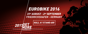 Will we see you at Eurobike 2016?