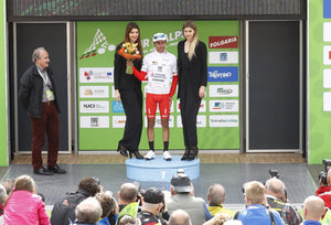 PODIUM FOR ANDRONI AT THE TOUR OF THE ALPS