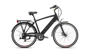 "BE16 E-BIKE TRK MAN 28"" TX55 7S INTEGRATED BATTERY"