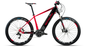 "BE 33 START E-MTB 27,5"" SRAM X5 9S ETR3 MIDDLE MOTOR"