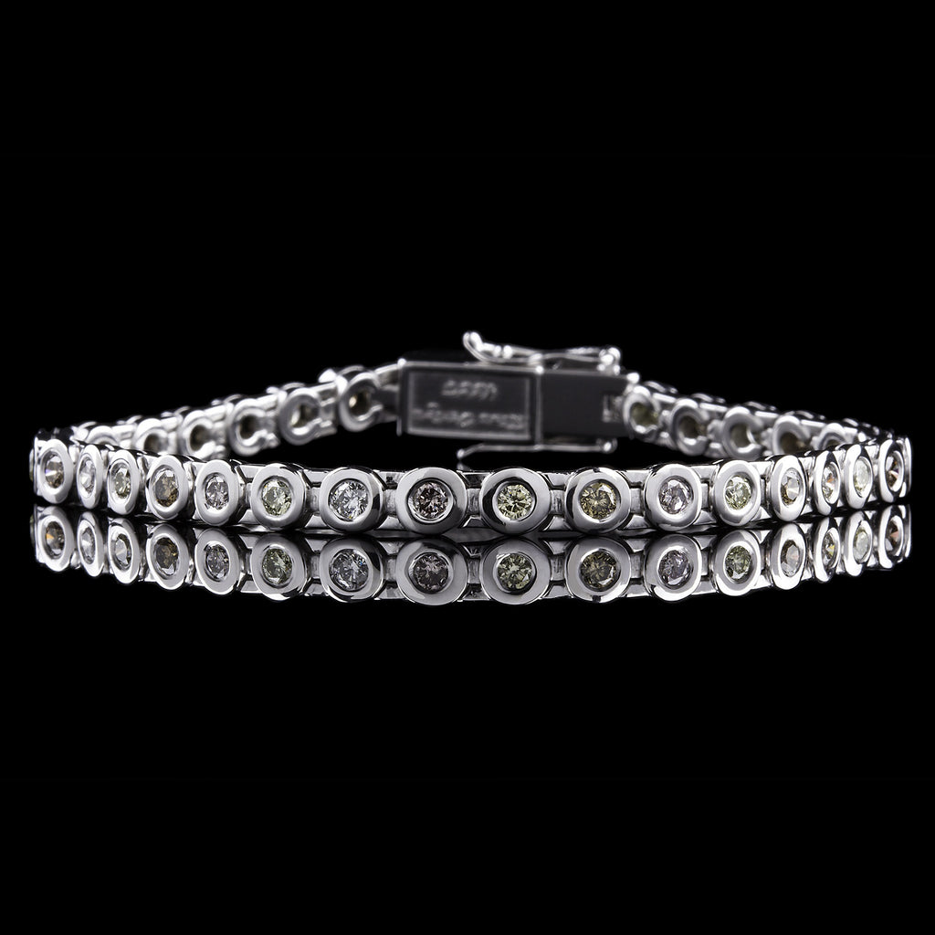 Festivo Diamond Tennis Bracelet
