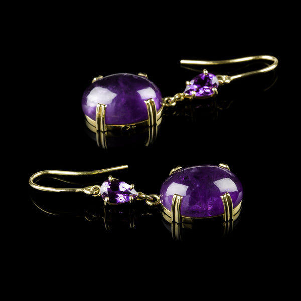 Oro Violet Earrings