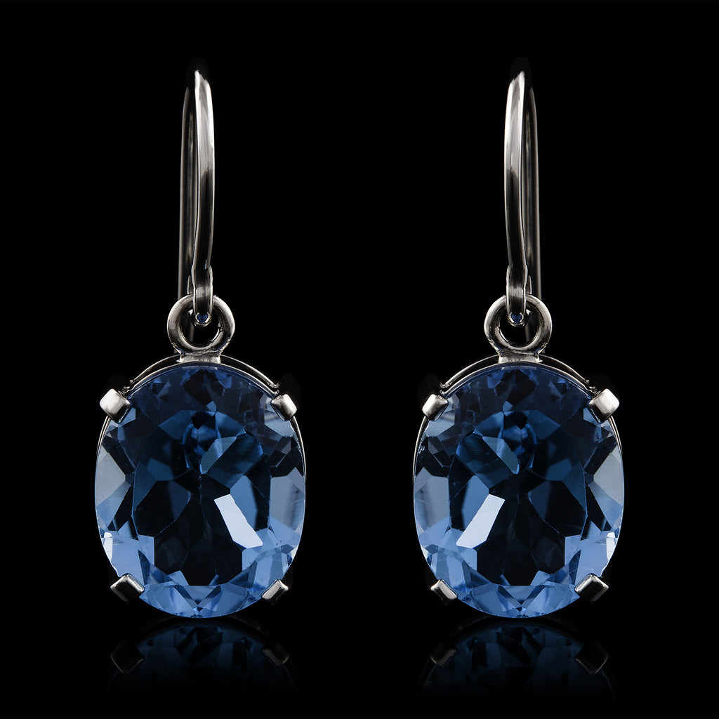 Topazio Blu Earrings